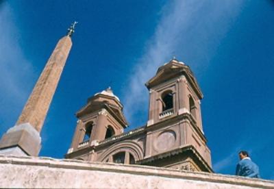 Trinita dei Monti by Rosa Maria Puglisi